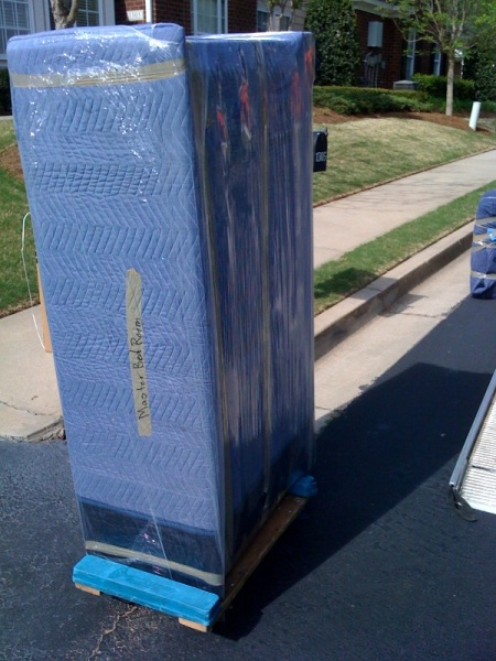 dresser-wrapped-up-ready-for-loading-in-roswell
