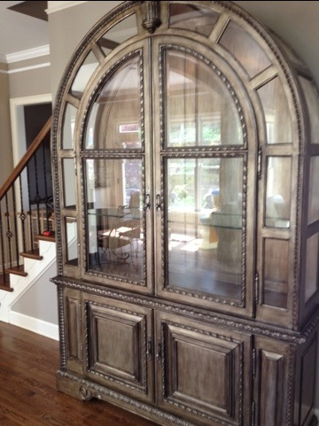 An Unusual China Cabinet | McGregor Moving's Insider's Guide on Moving